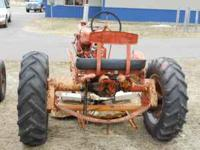 Allis C with Woods Mower Overhauled 3 years ago 12V