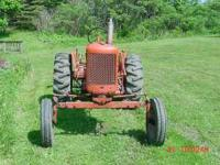 FOR SALE Allis-Chalmers CA farm tractor wide front,good