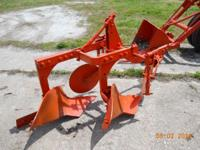 Allis Chalmers 2 bottom plow. $275.00. For more info