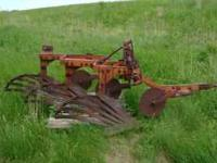 I have for sale an Allis Chalmers 3 bottom mount plow.