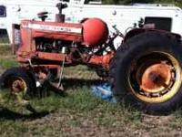 Allis Chalmers 65Hp D12 3 way hookups Needs propane and
