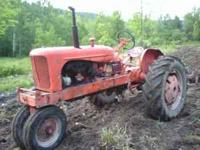 i have 2 allis chalmers wd's one runs and one does'nt