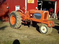 This tractor has had a lot of work done to it. New