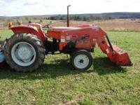 Allis Chalmers 5030 compact tractor 22 HP diesel with