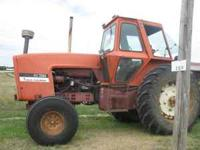 Allis Chalmers 7020 -160 hp tractor. Tractor is no