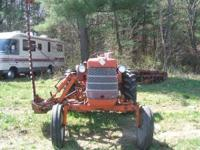 AC tractor 1960 D12 in excellent condition. This