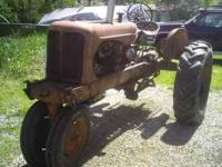 I am selling an Allis Chalmers WD 45 tractor. $1,400.