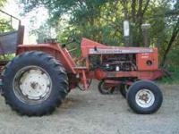 Great running tractor, 190xt turbo diesel, it comes