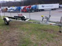 19' Road King single axle All Alluminum Boat Trailer 2