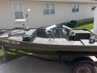 Made by Clark Boats in Bellevue Iowa All custom 3/8 al