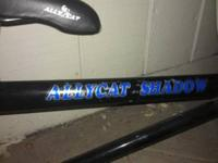 AllyCat Shadow Trailer Bike Thick strong steal frame,