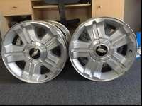 I just bought new Rims for my truck, thus why I'm