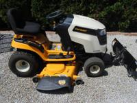 Cub cadet riding mower for sale. We only used it at the