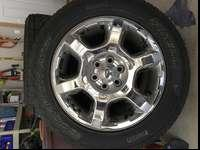 These are the wheels and tires off a new Ford F150 I