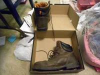 "Here we have 15w Timberland pro Granville 6"" steel toe"