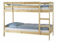 Bunk Beds for sale- barely used, includes mattresses.