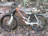 Newly tuned with brand-new front derailleur, chain, and