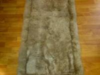 Very nice brown alpaca runner. $100 obo. call or text