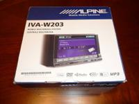 ALPINE IVA-W203 MOBILE MEDIA STATION KCA-SC100 ALPINE