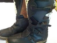 Alpine Stars dirt bike riding boots.  Size 9.  If