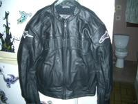 Alpinestars black label Caf Racer jacket. Size XL.