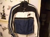 Alpinestars polyester jacket XL. Removable liner. Has