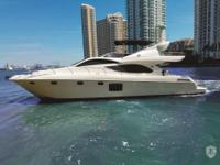 This Altamar 66 is a contemporary yacht designed with