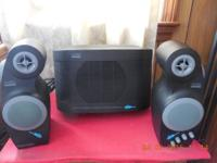 Gentle used ALTEC Lansing multi media computer speaker