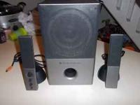 These speakers are used but in good shape. I don't have