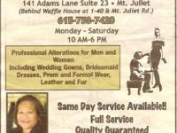 A+ Alterations ..Services for Men and Women. Including