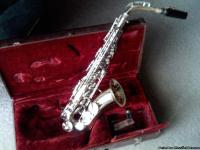 Just acquired a alto saxaphone with case by Armstrong,