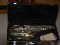 Lightly used Yamaha YAS-23 Alto Saxophone-- Good