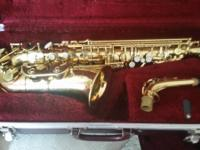 Used Alto Saxophonefor sale. In excellent condition.