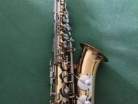 USED Vito Alto Saxophone in GOOD condition. This