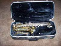 Used Conn Altosaxophone and case - Good condition. Call
