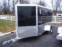 FOR SALE NEW,ALUMA ENCLOSED TRAILER,,6 X 12 PLUS