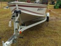 Alumacraft 16 with 2002 Tohatsu 15 hp 4 stroke motor