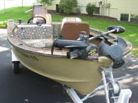 84 16 ft.Boat ,50 Horse Merc, Minntonka trolling bow