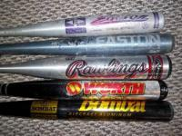 Used baseball and softball bats for sale: Prices and