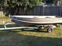 "Aluminum Boat 11' x 7"" - Trailer Optional Does Not Leak"