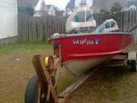 14 foot aluminum V hull boat. All wiring replaced and