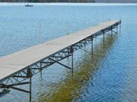 We are selling seven (7) sections of all aluminum dock