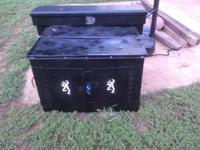 i have a black two stall dog box. its in my ford ranger