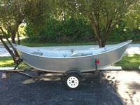Aluminum Drift Boat: A rare find Professionally custom