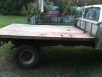 All Aluminum 8 foot wide by 10 feet long Flatbed. Good