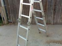 12-Ft. Multi-Fold, Aluminum Ladder - Looks & Works