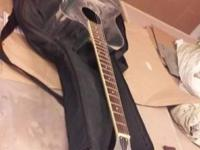 all aluminum acoustic bodied guitar.maple neck,rosewood