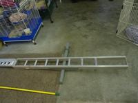 Brand new condition aluminum motorcycle carrying rack.