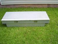 Aluminum Toolbox with Beveled Lid made by UWS. Fits