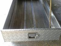 Nice Aluminum PU Tool Chest. Usually Sells For Around